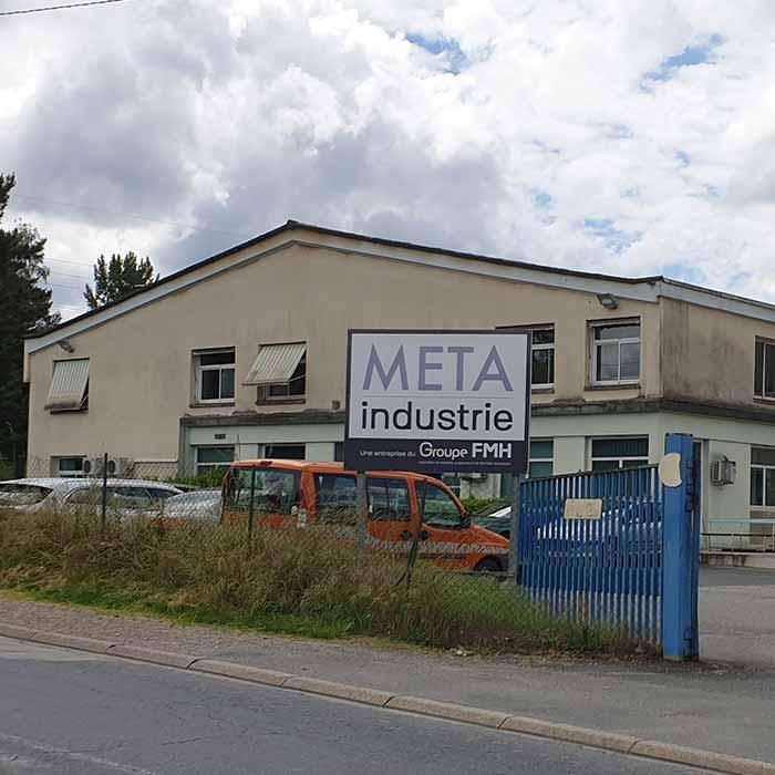 Bâtiment de l'entreprise Méta Industrie