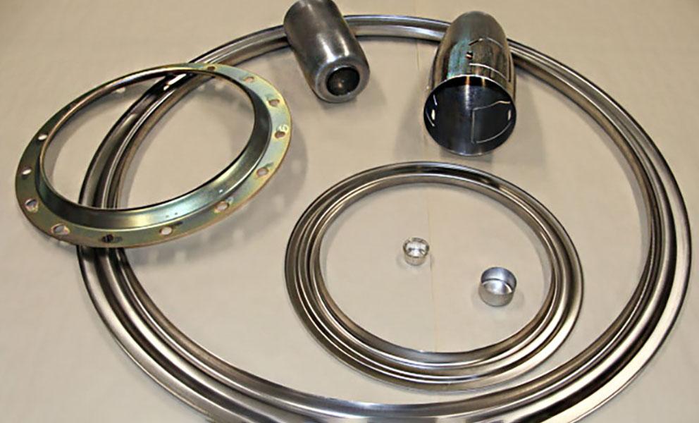 Pièces embouties aluminium, acier et inox