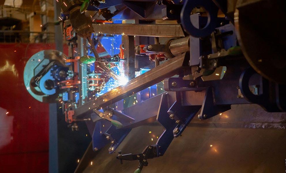 Robot de mécano-soudure de Meta industrie