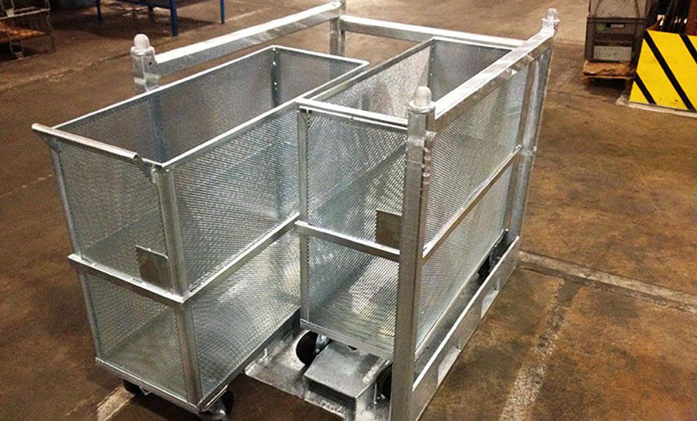 Pièce mécanosoudée aluminium, acier, inox